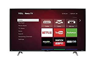 TCL 50FS3850 50-Inch 1080p Roku Smart LED TV (2015 Model)