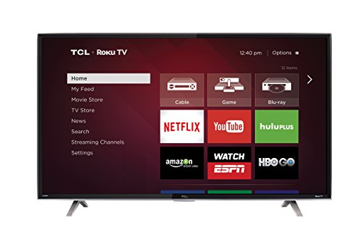 TCL 50FS3850 50-Inch 1080p Roku Smart LED TV (2015 Model)