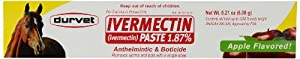 Ivermectin Paste Dewormer - 6.08g dose @ 1.87%