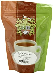 English Tea Store English Breakfast Teabags Blend Number One, 25 Count
