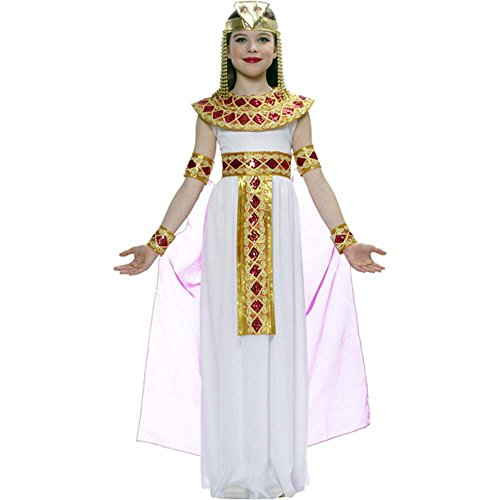 Pink Cleopatra Egyptian Queen Kids Costume