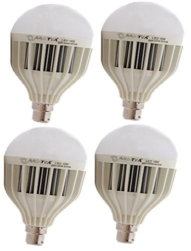 High Power 15W LED Bulb (Pack of 4)