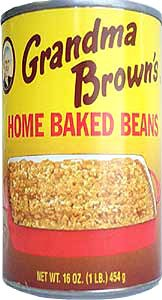 Grandma Brown's Home Baked Beans 16oz - 12 Unit Pack