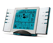 buy Oregon Scientific Wms801 Weather-Now Radio Weather Forecaster With Msn Direct Service And Atomic Clock