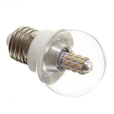 Rayshop - Mlsled E27 3W 30X3014Smd 210-240Lm 2700-3500K Warm White Light Led Globe Bulb Clear Cover(Ac220V)