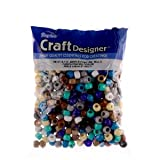 Pony Beads, Southwest Multi Mix, 6 X 9mm, 480pc Pkg