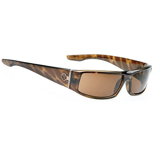 Spy Cooper Sunglasses - Spy Optic Steady Series Racewear Eyewear - Color: Tortoise/Bronze, Size: One Size Fits All