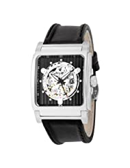 Bulova Men's 96A113 Automatic Mechanical Black Dial Strap Watch