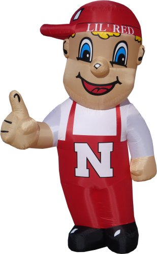 Nebraska Cornhuskers Lil Red Inflatable Lawn Decoration