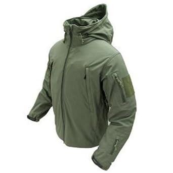 Soft Shell Jacket - Color: OD Green (Large)