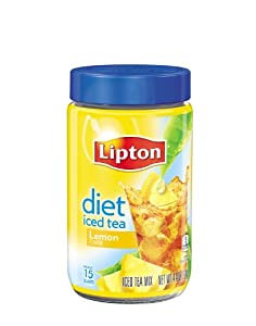 Lipton Lipton Diet Iced Tea Mix, Lemon, 15 Quart, 4.4Ounce (Pack of 2)