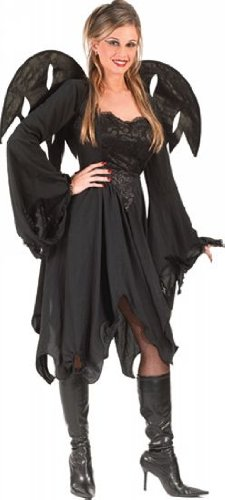 Black Rose Fairy Costume - Adult Costume