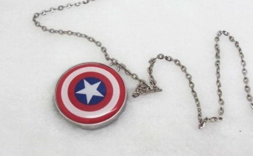 Sale alerts for Store Funny 8Gb 1 Piece Metal Usb Captain America Shield Model Usb 2.0 Flash Memory Stick Drive - Covvet