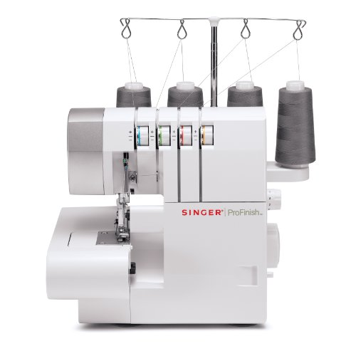 Great Features Of SINGER 14CG754 ProFinish 2-3-4 Thread Serger With Machine Intro DVD