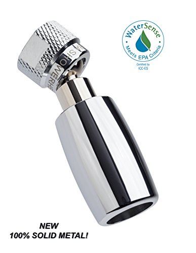 High Sierra 1.5 GPM High Efficiency Low Flow Shower Head, Polished Chrome (Gpm Shower Head compare prices)
