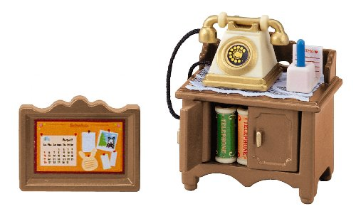 "Epoch Sylvanian Families Sylvanian Family Doll ""Phone Set Ka -501"""