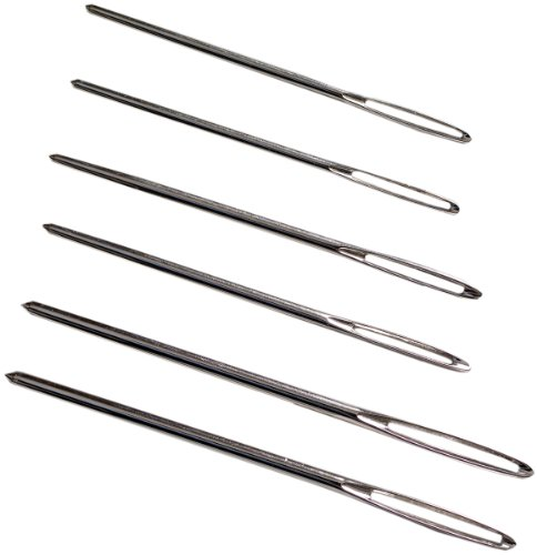 Lion Brand Yarn 400-5-5002 Large-Eye Blunt Needles, Set of 6 (Split Ring Stitch Markers compare prices)