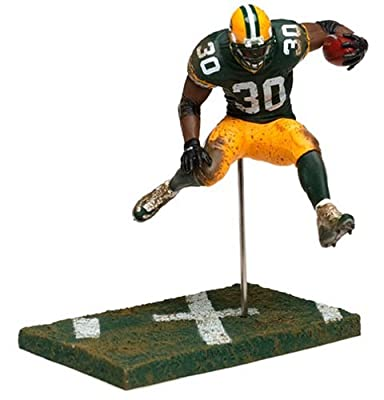 2004 - McFarlane / Sportspicks - Ahman Green #30 - Running Back - Green Bay Packers - Series 8 - - New - OOP - Collectible