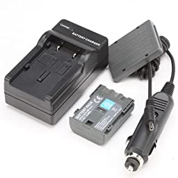 Battery,Charger for Canon VIXIA HFR10 ,HFR100, HFR11, HG10, HV20, HV30, HV40