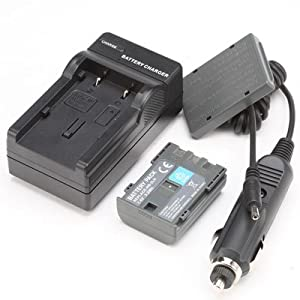 Battery,Charger for Canon EOS Digital Rebel XT Xti