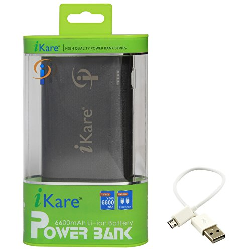 DMG iKare 6600 mAh Portable Powerbank Back Up Charger for Apple iPad/iPhone/Android Tablet/Mobile/MP3/PSP