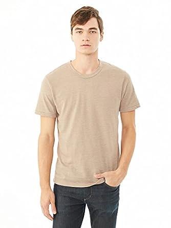 Alternative Mens Eco-Jersey Crew T-Shirt X-Small Eco True Bark