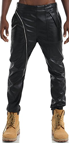 pizoff-men-hip-hop-leatherette-pu-asymmetisch-cut-black-pants-with-zipper-y1714-40
