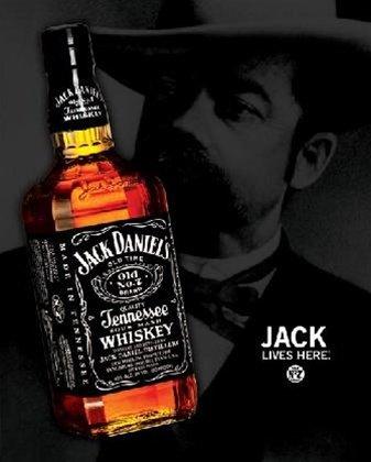 Jack Lives Here Jack Daniels Poster