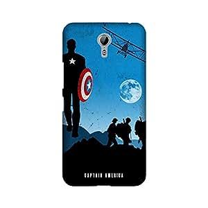 StyleO Lenovo Zuk Z1 Designer Printed Case & Covers (Lenovo Zuk Z1 Back Cover) - Superhero Captain America