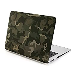 Gmyle Hard Case Print Frosted (Camouflage Pattern) for 13 inch Macbook Air - Woodland Camouflage