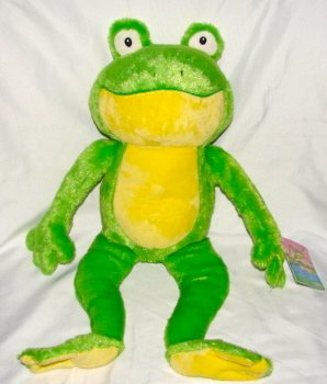 Down by the Cool of the Pool Kohls Frog Plush - 1