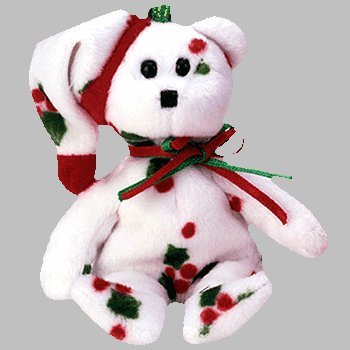 4164oYdcj0L Cheap Buy  Ty Jingle Beanies   1998 Holiday Teddy Bear