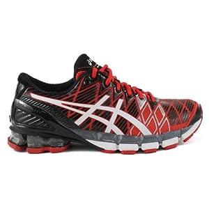 Asics GEL-Kinsei 5 Running Shoe - Red/White/Black (Mens) - 11.5