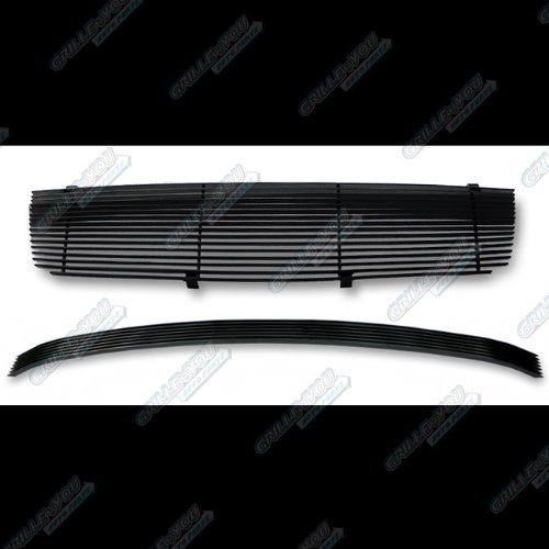 04-06 Nissan Maxima Black Billet Grille Grill Combo Incert (2005 Maxima Emblem compare prices)