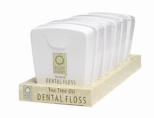 Desert Essence Tree Tree Oil Dental Floss Multi Buy (6 x 45.7m)