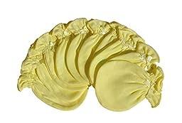 6 Pairs Cotton Newborn Baby/infant No Scratch Mittens Gloves - Yellow