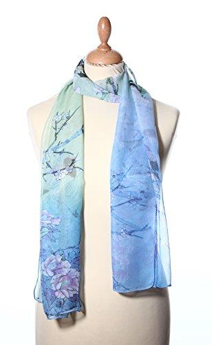 100-foulard-en-soie-oiseau-et-fleur-bleu
