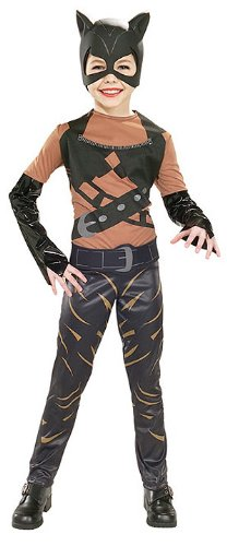 [Purrfect Child Catwoman Costume Medium 8-10] (Catwoman Costume For Girls)
