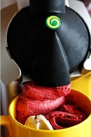 アイスクリームメーカー Yonanas ヨナナス 902 デザートメーカー ブラック/シルバー 並行輸入品