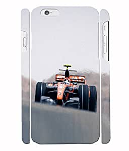 Fuson 3D Printed Racing Car Designer Back Case Cover for Apple iPhone 6 - D841