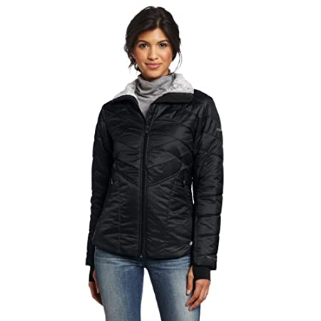 Offered in an array of dark, versatile neutral colors, this cozy jacket utilizes Omni-Heat® thermal reflective and insulation to provide superior warmth – it's beautiful baffling makes it as perfect for everyday as it is for staying warm during cold-...