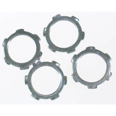 Halex 26190 4 Count 1/2-Inch RGD Conduit Locknut