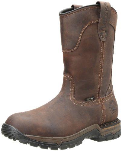 Irish Setter Men's Wellington Work Boot,Brown,10.5 EE US