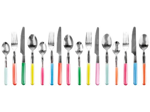PT Cutlery Set Indian Summer, Multi Colour