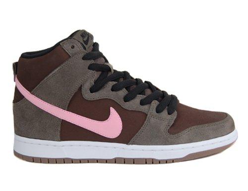 B00C2ADTP4 Men's Nike Dunk High Pro SB 305050 262 Smoke Ion Pink Barogue Brown Sneaker (MEN SIZE 11.5, Smoke Ion Pink Barogue Brown)