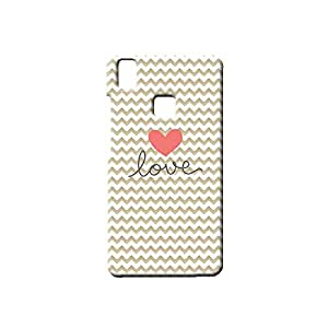 G-STAR Designer Printed Back case cover for VIVO V3 - G5189
