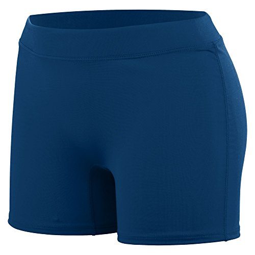 Augusta Sportswear Women's Enthuse Volleyball Shorts M Navy Closeout Casual Shorts