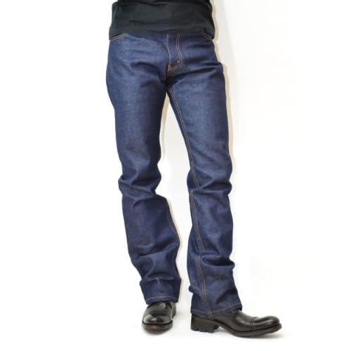 LEVI'S [リーバイス] 517 ORIGINAL BOOT CUT [デニム ジーンズ ジーパン パンツ ブーツカット 00517]リジッット ノンウォッシュ(未洗い )本国USAライン (W32xL32, RIGID:リジット)