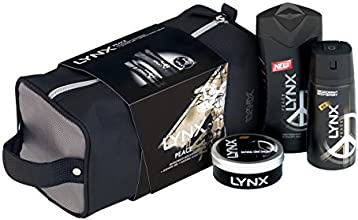 Lynx Peace Wash Bag Gift Pack