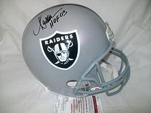 Marcus Allen Autographed Helmet Full Size Jsa Coa Oakland Raiders Signed -... by Sports Memorabilia